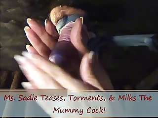 Tease Torture Milk Mummy Cock On Glory Hole By Ms. Sadie