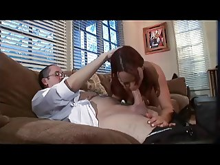 Papa - Lucky Dad Bangs The Babysitter Passionate