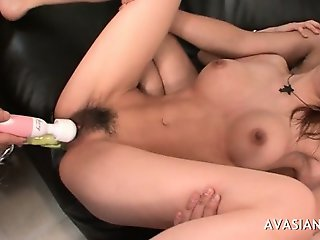 Wild Sex Action After Multiple Deep Pussy Toys Insertion