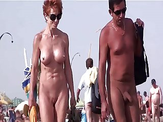French nudist beach Cap d'Agde people walking nude 07