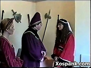 Pervert Chick In Tempting Bdsm Spanking