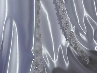 White Wedding Satindress 01
