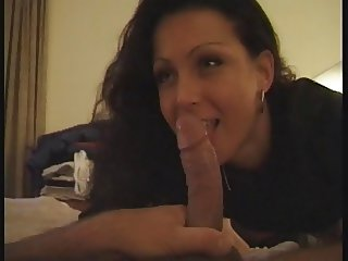 Hot scene in hotel room