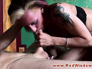 Amsterdam whore eaten out and fucked