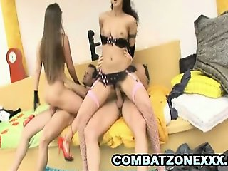 Cathy Heaven and Cindy Hope - Hot Euro Babes Enjoying Some Foursome Sex
