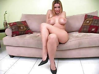 She strips you stroke. JOI