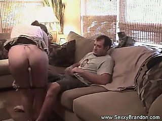 Some Hot Amateur Couch Sex