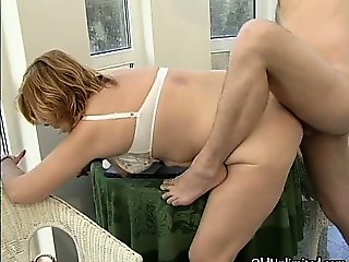 Horny mature slut goes crazy sucking part4