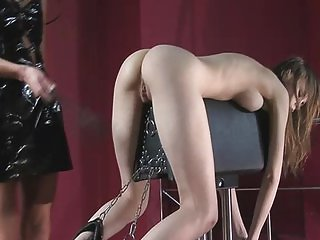 BDSM scene with Beata Undine