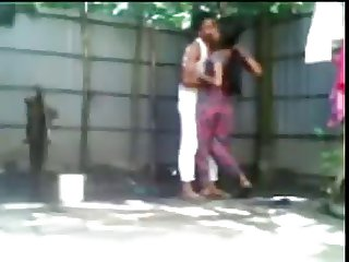 Young Shameless Bengali Couple Doing Open Air Fucking