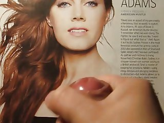 Amy Adams Cum Tribute Bukkake No. 1