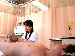 Nasty nurses gets horny and fucks part4