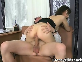 Sexy brunette hoe gets fucked hard part5