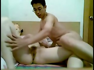 amateur chinese couple homemade