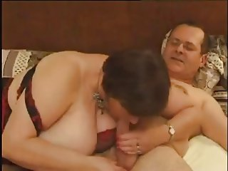 French BBW in a Kinky Threesome