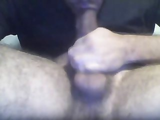 Quick selfsuck - sucking my own hung cock