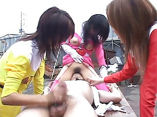 Uncensored japanese bound facesittng
