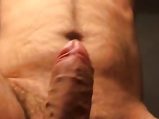 Slapping my cock n balls in slowmotion from another angle.