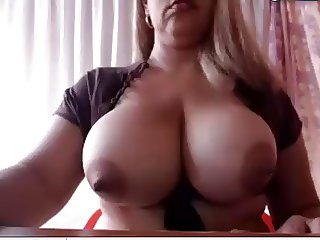 Tranny with huge tits and big cock Pt1