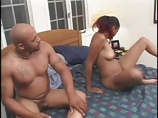 Green Eyes Takes A Big Dick In Her Tight Pussy