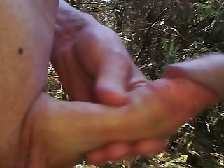 quick wank in the forest