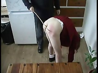 school girl whipped twice for masturbating WF