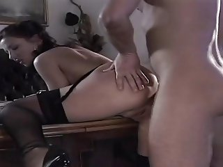 Milf fucked in the office