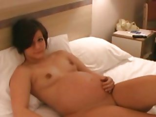 pregnant - crystal beigeshirt video