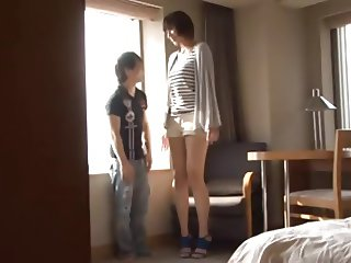 Japanese Tall Woman For Small Guy...F70
