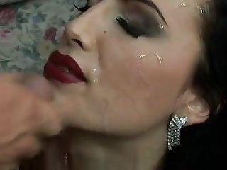 Mela Getting a Sperm Facial - 2