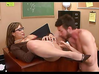 Chubby Mature Teacher Fuck Young Student.