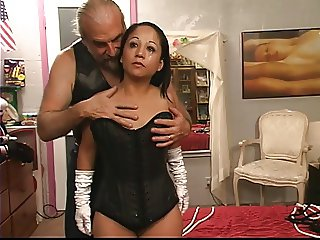 Stunning young exotic tattooed asian girl is restrained for the first time
