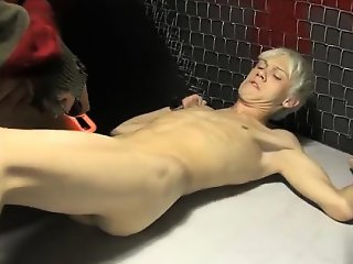 Twink movie of In a bizarre dream Ashton Cody is bound up an