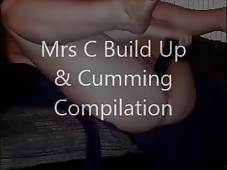 Mrs C Build Up and Cumming Compilation