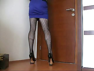Turkish sisyperi- Sexy Secretary Pantyhose
