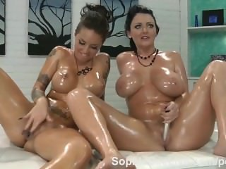 Big Tit Sophie Dee Ultimate Hookup with Christy Mack