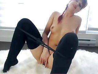 Webcam series - Nice Canadian pussy lips compilation