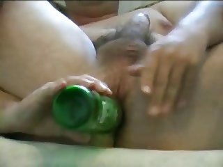 Bulgarian men chat with girl and use anal toys