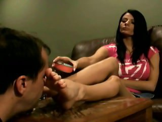 Goddess Jessica's Pathetic Boots Cleaner and Human Ashtray