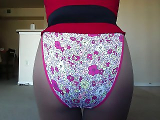 SEXY PETITE CROSSDRESSER 9 IN NEW PANTY WOW!!!