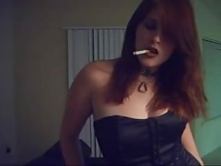 Deliciously Addicted Smoking Fetish Goddess