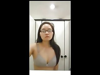 NUS Girl Stripping Part 1