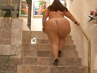 Latina BBW With A Monster Booty & High Heels