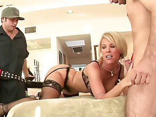 DP for beatiful Milf Kayla