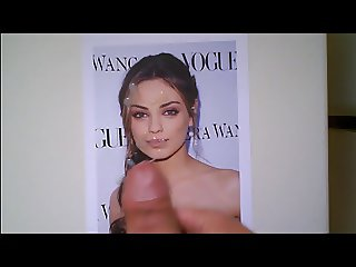 Cum tribute to Mila Kunis