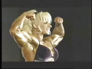 Kim Chizevsky  Female bodybuilder
