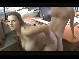 I fuck a plump secretary at work