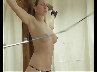 Having Her Breasts Whipped-daddi