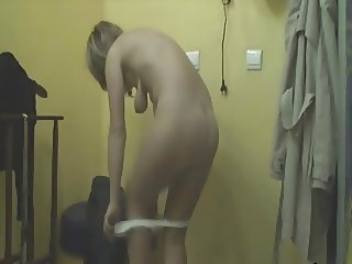 Spy blonde nude