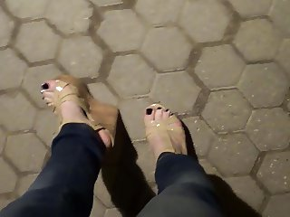 sexy feet and platform shoes